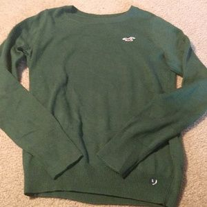 NWT Hollister sweater green